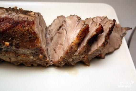 как приготовить свиную шейку в духовке в фольге