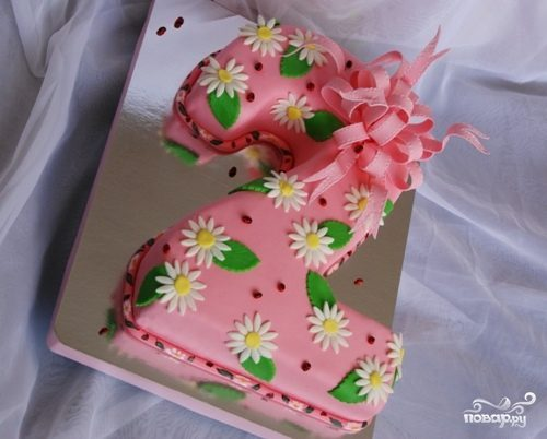 "Торт ""Двойка"""