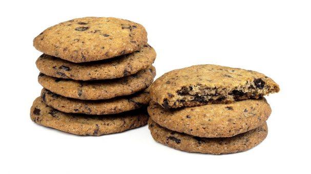 Вкусное печенье с шоколадной крошкой