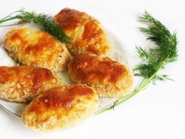 рецепт котлет с сыром приготовленных в духовке