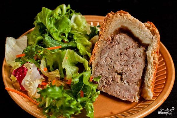 Английский пирог с мясом