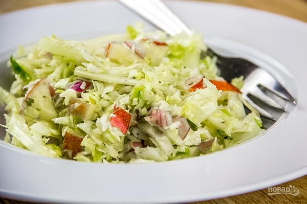 Рецепт капустного салата