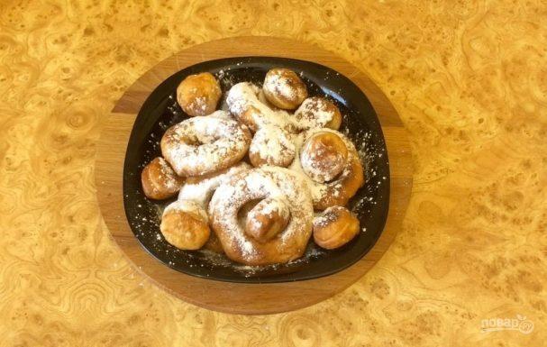 Пончики к завтраку на скорую руку