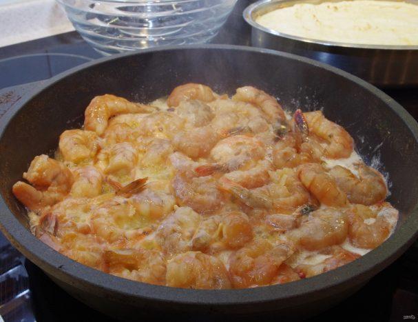 Сливочный соус к креветкам