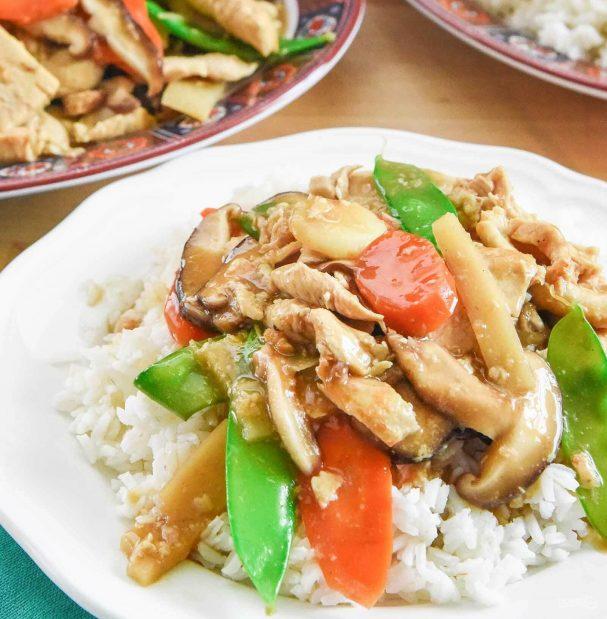 Курица под китайским соусом