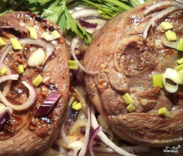 стейк голени индейки в духовке рецепт с фото