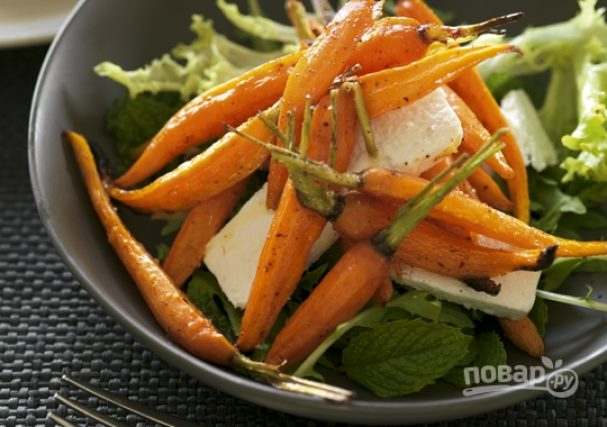 Легкий быстрый салат