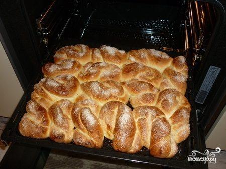 Вкусные воздушные булочки