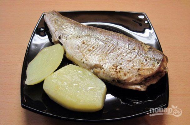 Пелядь (рыба) в духовке