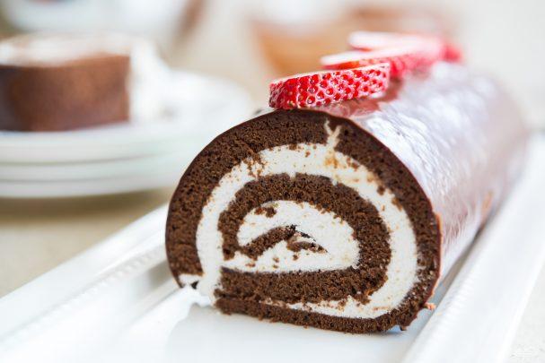 Швейцарский шоколадный рулет