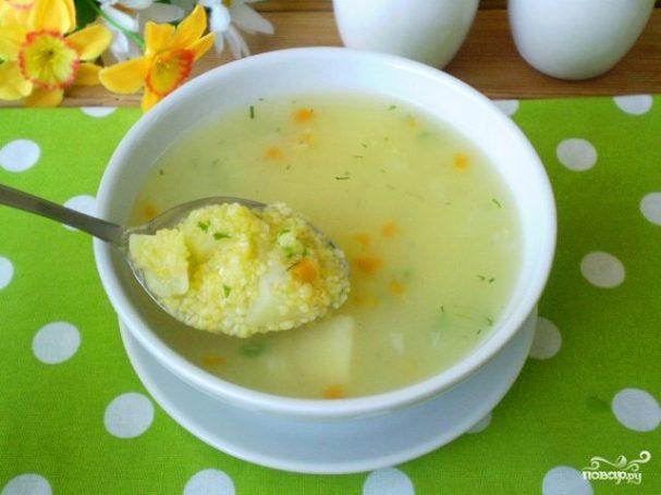 Диетические супы с крупами рецепты
