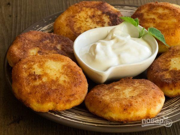 Сырники из адыгейского сыра