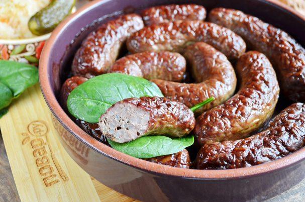 """Печеночные колбаски с рисом """"Домашние"""""""