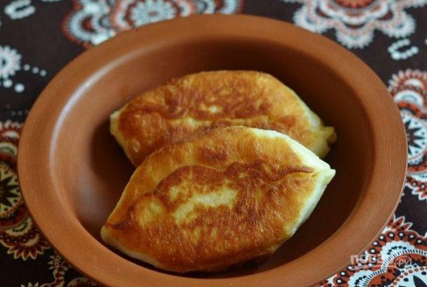 Жареные пирожки с картошкой без дрожжей