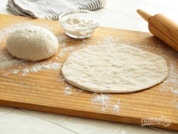 Тесто на пиццу (простой рецепт)