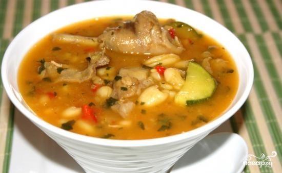 Суп с рисом и картошкой