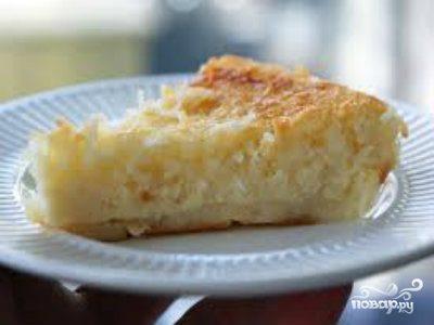 Кокосовый пирог в мультиварке