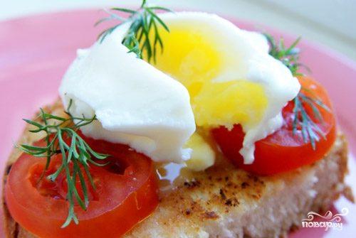 Яйца по-французски