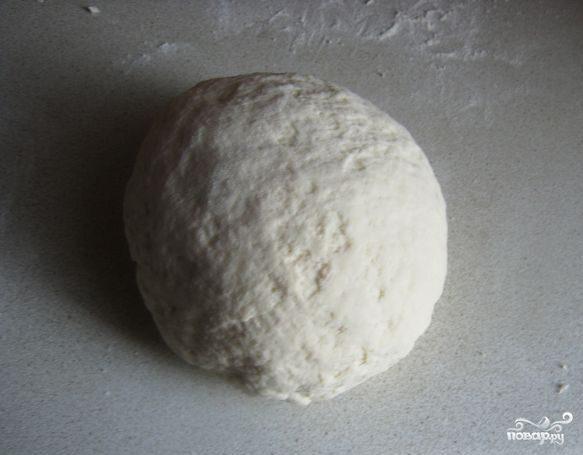 Бездрожжевое тесто для рыбного пирога