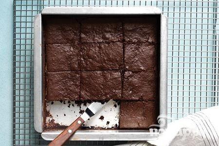 Шоколадные пирожные из сладкого картофеля