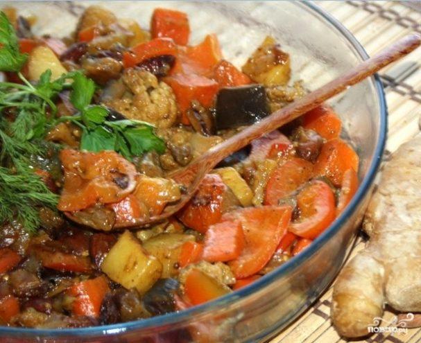 Вегетарианское карри