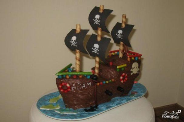 """Торт """"Пират"""""""