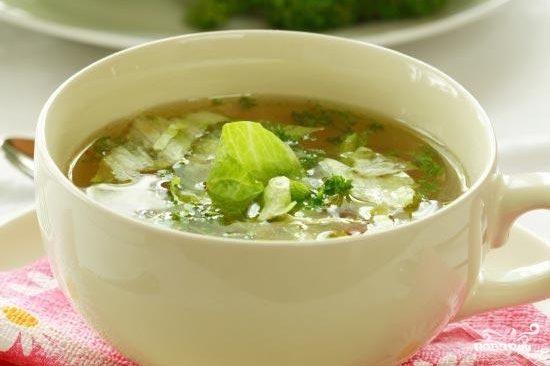 Капустный суп для похудения