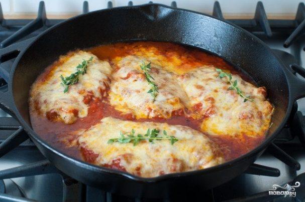 Куриное филе по-тоскански