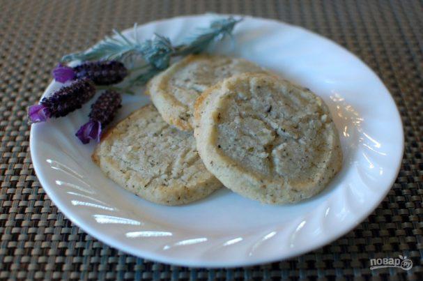 Лавандовое печенье