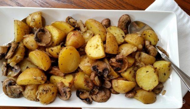 Грибы с картошкой