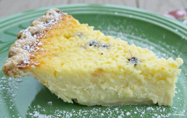 Итальянский пирог с рикоттой