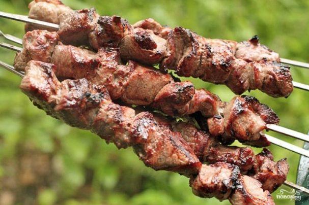 Мягкий шашлык из баранины