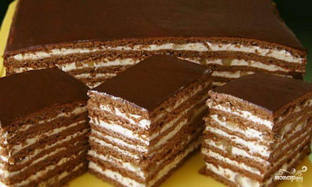 торт нутелла рецепт фото крем