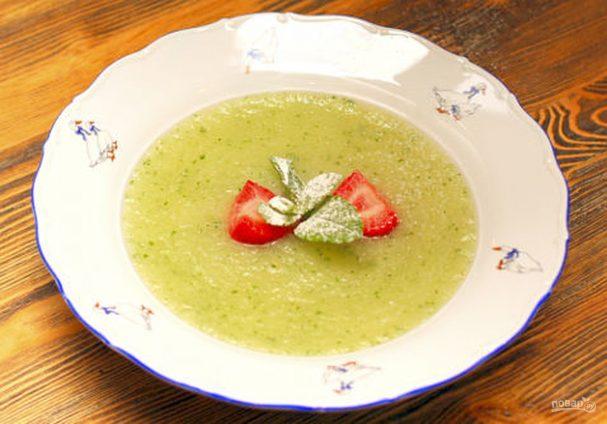 Суп дынный десертный
