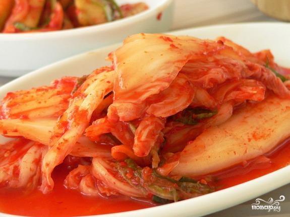 Китайская поджарка из пекинской капусты