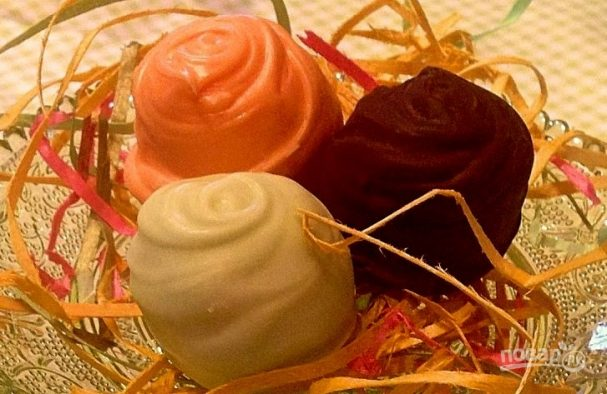 Домашние кокосовые конфеты