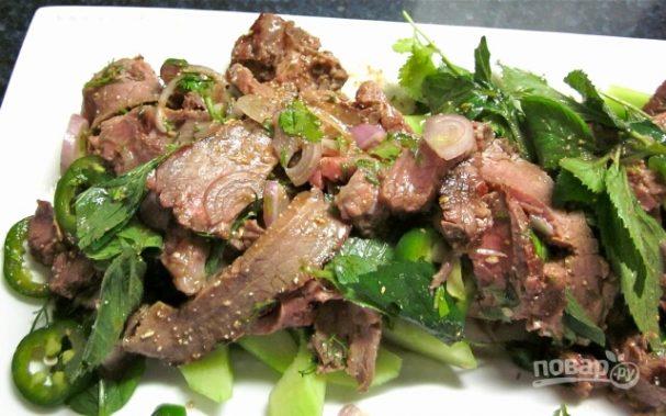Мясо по-тайски рецепт пошагово с огурцом 57