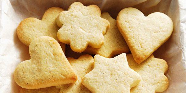 Печенье песочное домашнее на маргарине