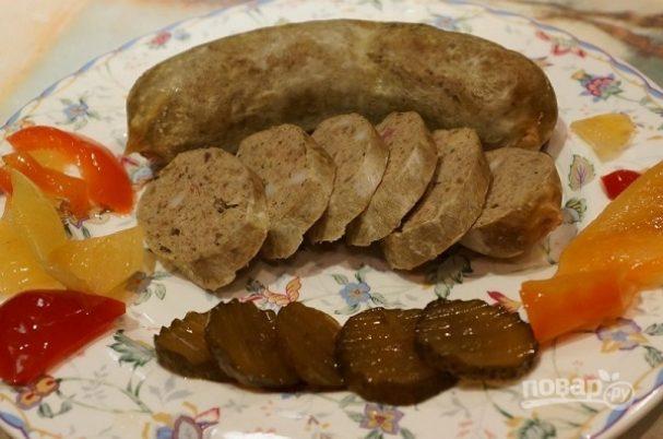 Печеночная колбаса