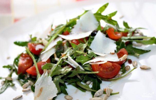 Салат к лазанье