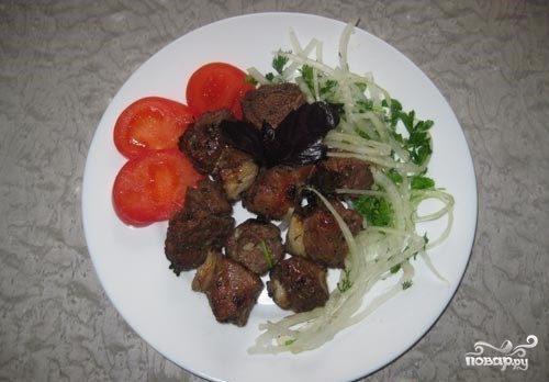 Вкусный шашлык из баранины