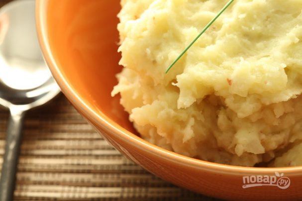 Вкусное пюре из картофеля