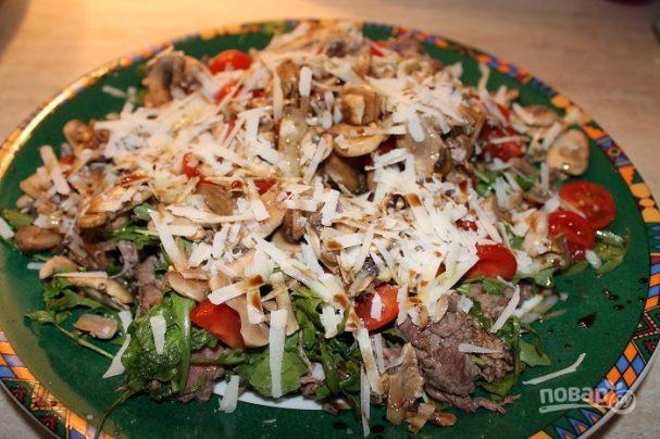 мясные салаты рецепты с фото из говядины