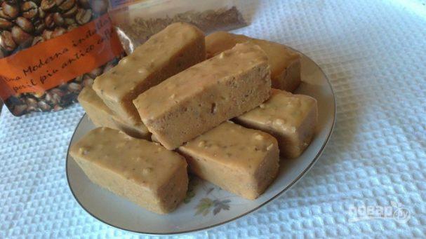 Сливочные колбаски из печенья