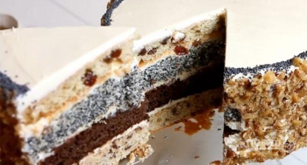 Торт королевский орех рецепт пошагово в