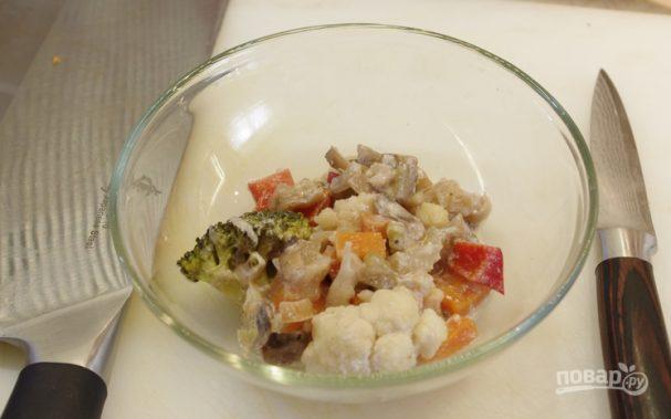 Овощное рагу со сливками
