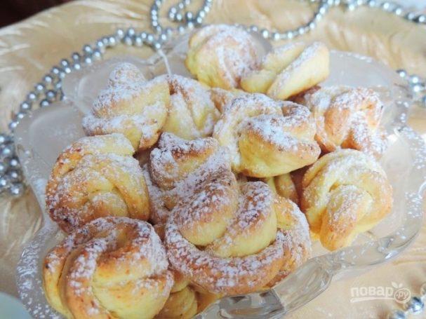 Домашнее печенье с творогом