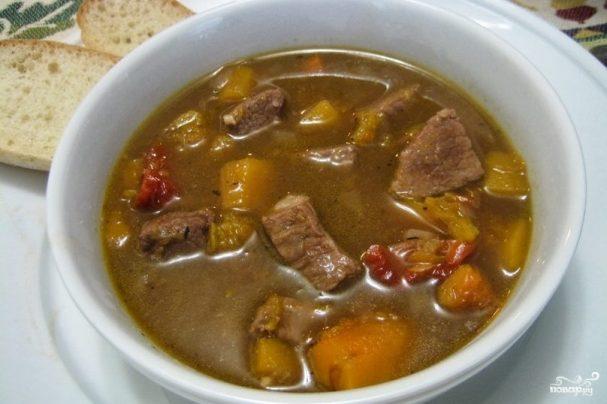 Какой суп из говядины