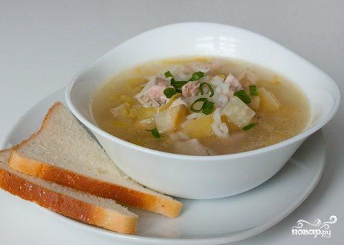 Суп из грудки индейки
