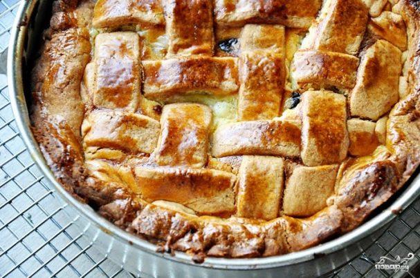Пасхальный пирог с рикоттой